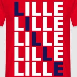 Lille grid Tee shirts - T-shirt Homme