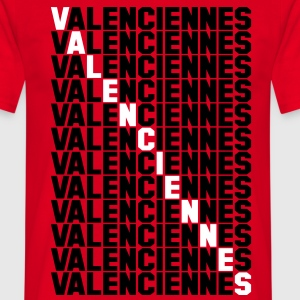 Valenciennes grid Tee shirts - T-shirt Homme