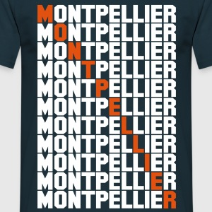 Montpellier grid Tee shirts - T-shirt Homme