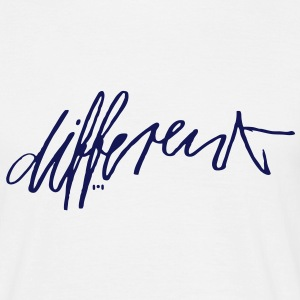 different - Männer T-Shirt