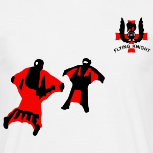 flying_knight T-Shirts - Männer T-Shirt