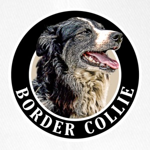 Border Collie 002 Caps & Hats - Flexfit Baseball Cap