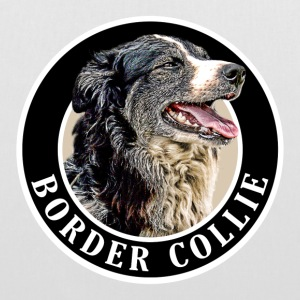 Border Collie 002 Bags  - Tote Bag
