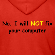Design ~ Will not fix your computer