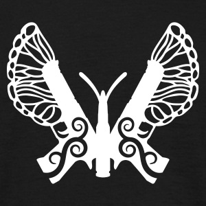 Butterfly Gun - Men's T-Shirt