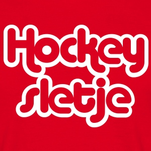 hockey sletje T-shirts - Mannen T-shirt