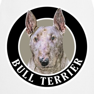 Bull Terrier 002  Aprons - Cooking Apron