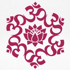 OM Lotus, Meditation, Yoga, AUM, Buddhismus T-Shirts - Frauen T-Shirt