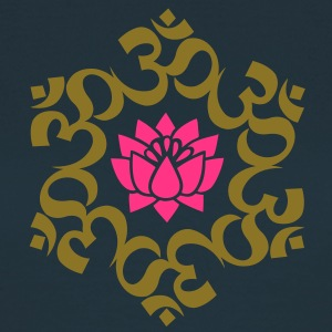 OM Lotus, Meditation, Buddha, Yoga, AUM,  T-Shirts - Frauen T-Shirt
