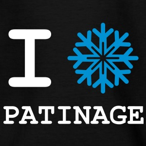 I Love Patinage Tee shirts - T-shirt Enfant