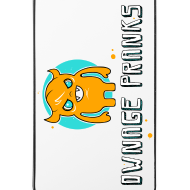 Design ~ Ownage Pranks Orange Logo iPhone