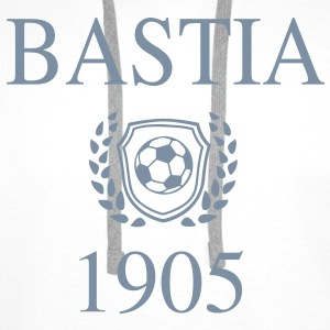 Bastia 1905 Origin Sweat-shirts - Sweat-shirt à capuche Premium pour hommes
