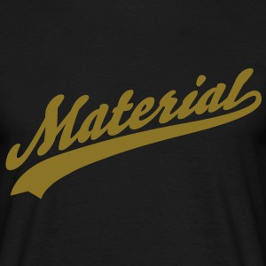 material T-Shirts - Herre-T-shirt