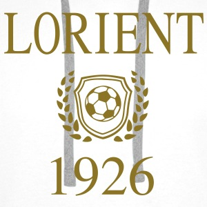 Lorient 1926 Origin Sweat-shirts - Sweat-shirt à capuche Premium pour hommes