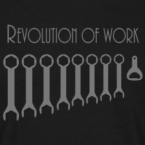 revolution_of_work T-Shirts - Männer T-Shirt