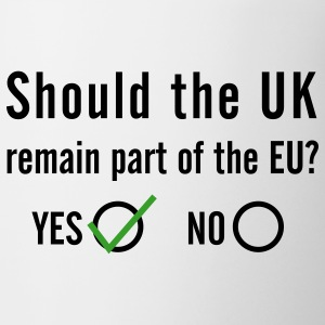 EU Referendum - YES Mug - Mug