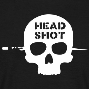 head shot T-Shirts - Männer T-Shirt