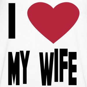 i love my wife T-Shirts - Men's V-Neck T-Shirt