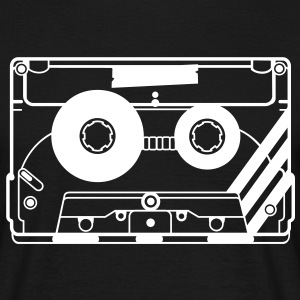 audio tape cassette T-Shirts - Men's T-Shirt