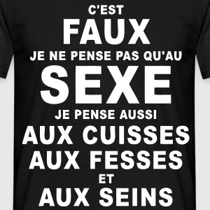 sexe humour Tee shirts - T-shirt Homme