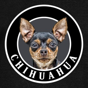Chihuahua 002 Hoodies & Sweatshirts - Women's Boat Neck Long Sleeve Top