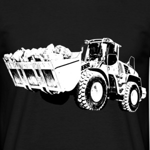wheel loader - Men's T-Shirt