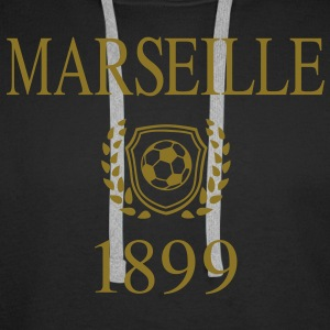 Marseille 1899 Origin Sweat-shirts - Sweat-shirt à capuche Premium pour hommes