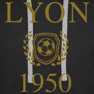 Lyon 1950 Origin Sweat-shirts - Sweat-shirt à capuche Premium pour hommes