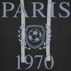 Paris 1970 Origin Sweat-shirts - Sweat-shirt à capuche Premium pour hommes