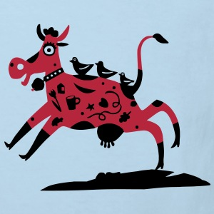 the red cow / t-shirt Shirts - Kids' Organic T-shirt