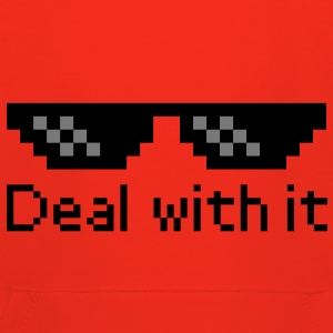 Deal With It Gensere - Premium Barne-hettegenser