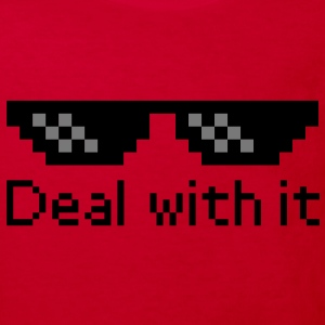 Deal With It Shirts - Kids' Organic T-shirt