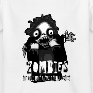 zombies - the only meat eaters i truly respect sv text.png T-shirts - T-shirt barn