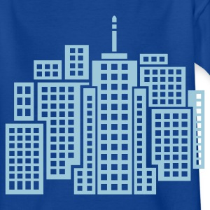 Royal blue City Kid's Shirts  - Teenage T-shirt