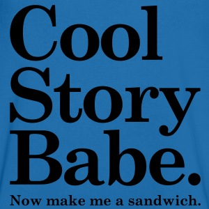 Cool Story Babe T-Shirts - Men's V-Neck T-Shirt