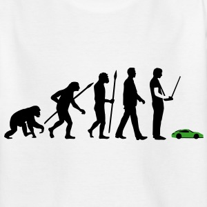 evolution_modellbauto_b_2c T-Shirts - Teenager T-Shirt