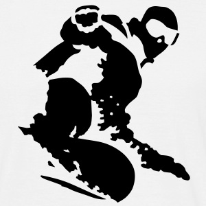 snowboarding_20 Tee shirts - T-shirt Homme