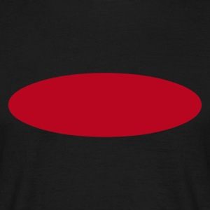 Black Ellipse Men's Tees - Men's T-Shirt