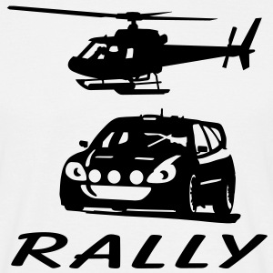 rally T-shirts - Mannen T-shirt