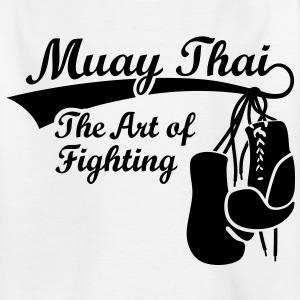 Muay Thai - The Art of Fighting T-shirts - Teenager-T-shirt