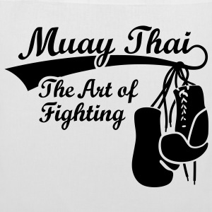 Muay Thai - The Art of Fighting Torby - Torba materiałowa