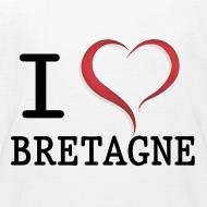 Motif ~ Tee shirt i love bretagne classique Enfant