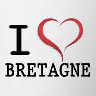Motif ~ Tasse Mug i love Bretagne