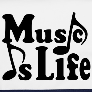 Music is Life. Music notes musician Bags  - Shoulder Bag