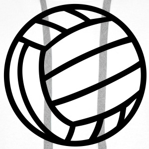 Volleyboll boll Volleyball Ball Tröjor - Premiumluvtröja herr