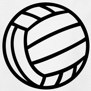 Volley-ball balle Volleyball  Tee shirts - T-shirt Ado