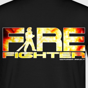 US Firefighter Shirt - Men's T-Shirt