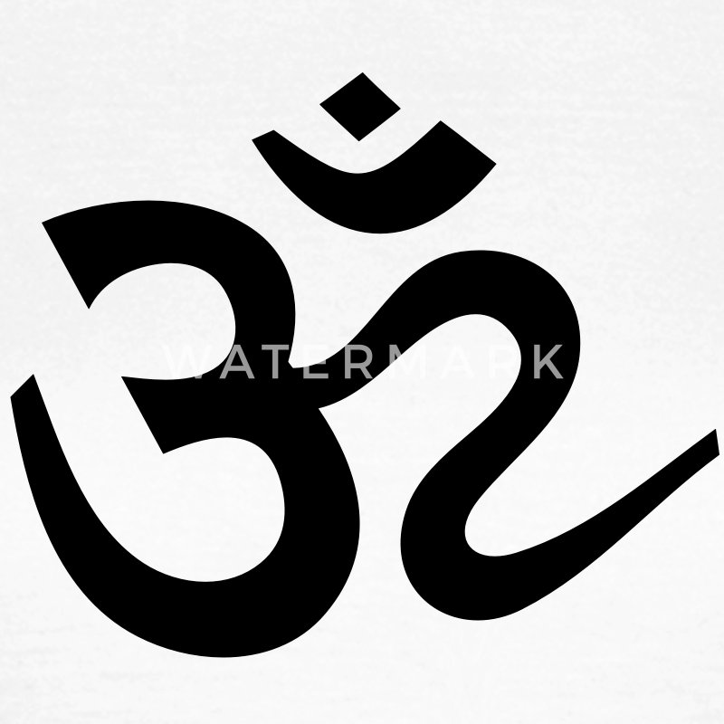 tee shirt om symbole sanskrit mantra l 39 inde bouddha spreadshirt. Black Bedroom Furniture Sets. Home Design Ideas