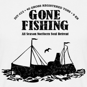 Gone Fishing BL - Men's T-Shirt