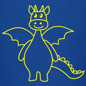 cute dragon Shirts - Kinderen T-shirt